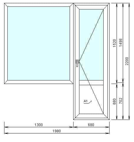 Цены на окна пвх в домах серии п-3 и п-43 19 700 рублей.
